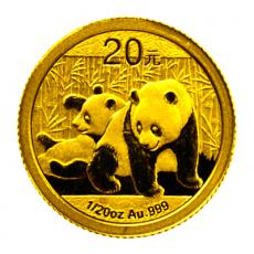1/20 Oz. China - Panda 2010