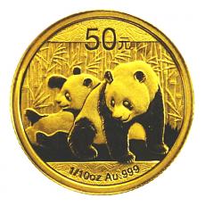 1/10 Oz. China - Panda 2010
