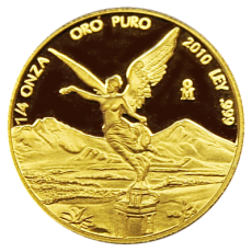 1/4 Oz. Mexiko - Libertad 2010 (Proof)