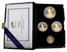 1,85 Oz. USA - American Eagle Proof Satz - 2010