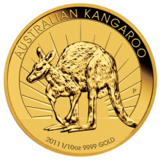 1/10 Oz. Australien - Nugget/Känguru 2011