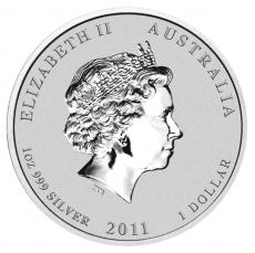 1 Oz. Australien - Hase 2011 (Lunar II)