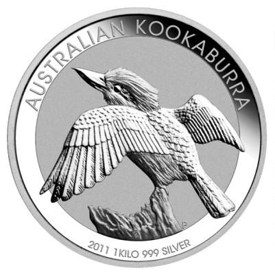 1 Kg Australien - Kookaburra 2011