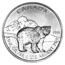 1 Oz. Canada - Grizzly 2011
