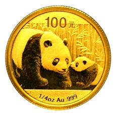 1/4 Oz. China - Panda 2011