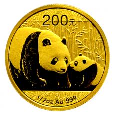 1/2 Oz. China - Panda 2011