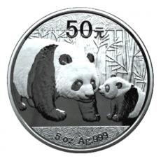5 Oz. China - Panda 2011 (Proof)