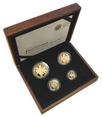 1,85 Oz. Britannia Gold-Proof-Set 2011