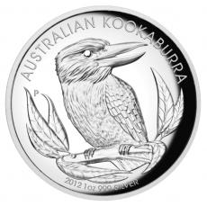 1 Oz. Australien - Kookaburra 2012 (High Relief)