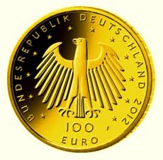 100 Euro BRD - Dom zu Aachen 2012  -  G