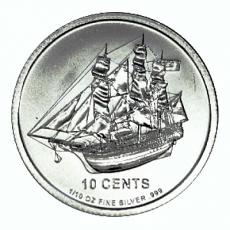 1/10 Oz. Cook Islands - Bounty 2012
