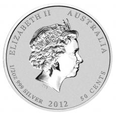 1/2 Oz. Australien - Drache 2012 (Lunar II)