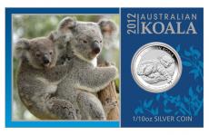 1/10 Oz. Australien - Koala 2012 (im Blister)