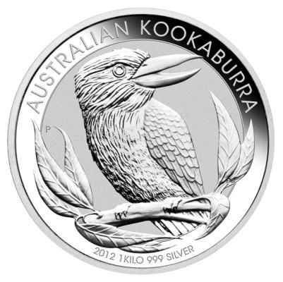 1 Kg Australien - Kookaburra 2012