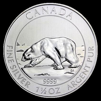 1,50 Oz. Canada - Polarbär 2013