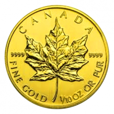 1/10 Oz. Canada - Maple Leaf (Versch. Jg.)
