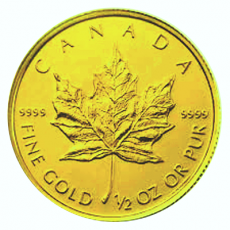 1/2 Oz. Canada - Maple Leaf (Versch. Jg.)