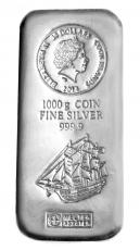 1 Kg Cook Islands 2014 - Münzbarren (Silber 999.9) Argor Heraeus