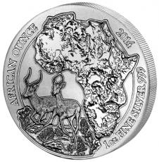 1 Oz. Ruanda - Impala/Antilope 2014