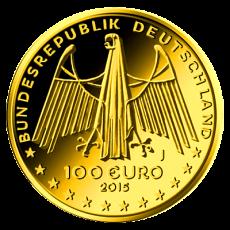100 Euro BRD - Oberes Mittelrheintal 2015 - J