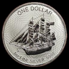 1 Oz. Cook Islands  - 2016   (Silber 999.9)
