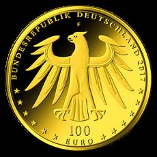 100 Euro BRD - Eisleben und Wittenberg 2017 - F