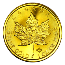 1 Oz. Canada - Maple Leaf 2017