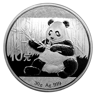 30 Gramm China - Panda 2017