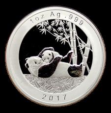 2017 - 1,85 Oz. München Show Panda Set (Proof)