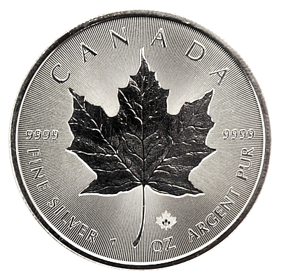 1 Oz. Maple Leaf 2018 - Incuse