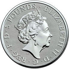 2 Oz. Großbritannien - Falcon of the Plentagenets - 2019