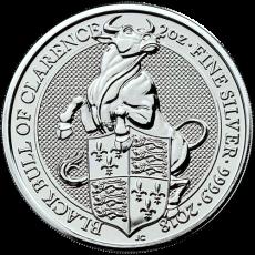 2 Oz. Großbritannien - Black Bull of Clarence - 2018