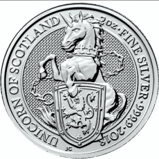 2 Oz. Großbritannien - Unicorn of Scotland - 2018