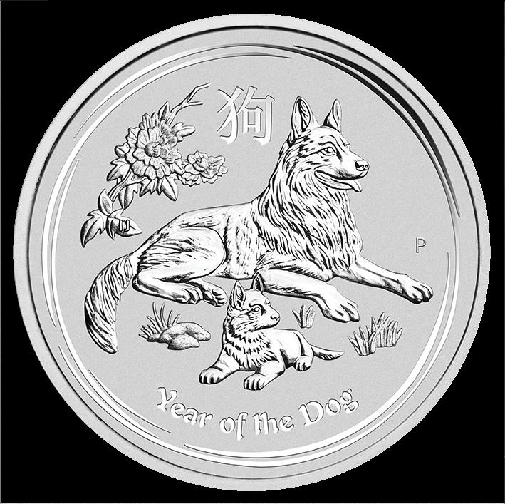 2 Oz. Australien - Hund 2018 (Lunar II)