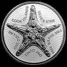 1 Oz. Cook Islands 2019 - Starfish
