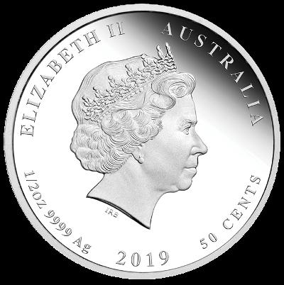 1/2 Oz. Australien - Schwein 2019 (Lunar II)