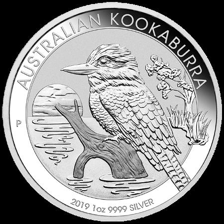 1 Oz. Australien - Kookaburra 2019