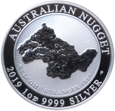 1 Oz. AUSTRALIAN NUGGET - Welcome Stranger - 2019