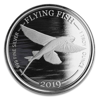 1 Oz. Barbados - Flying Fish 2019