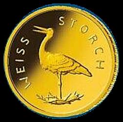 20 Euro BRD - Weißstorch 2020 (F)