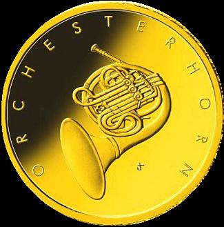 50 Euro BRD - Orchesterhorn 2020 - J