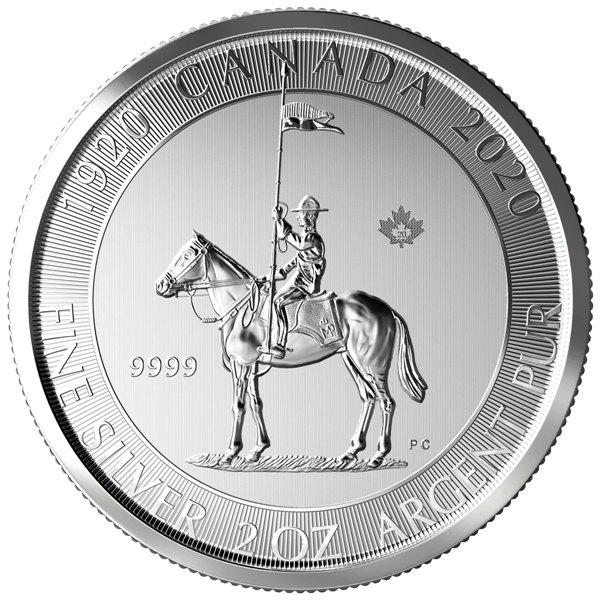 2 Oz. Canada - RCMP 2020