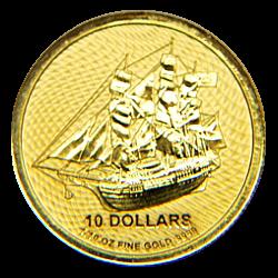 1/10 Oz. Cook Islands - Bounty 2020