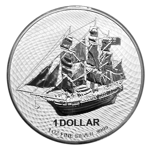 1 Oz. Cook Islands - Bounty 2020