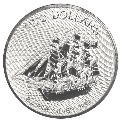 2 Oz. Cook Islands - Bounty 2020