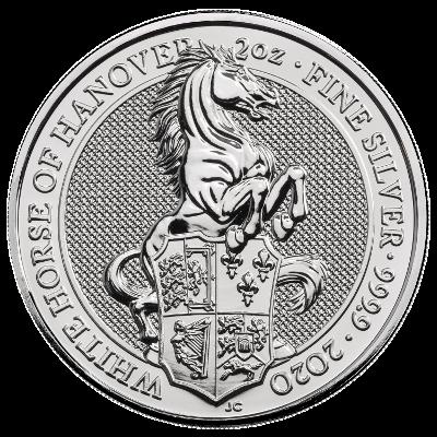 2 Oz. Großbritannien - White Horse of Hannover - 2020