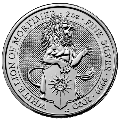 2 Oz. Großbritannien - White Lion of Mortimer - 2020