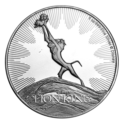 1 Oz. Niue - Lion King 2021
