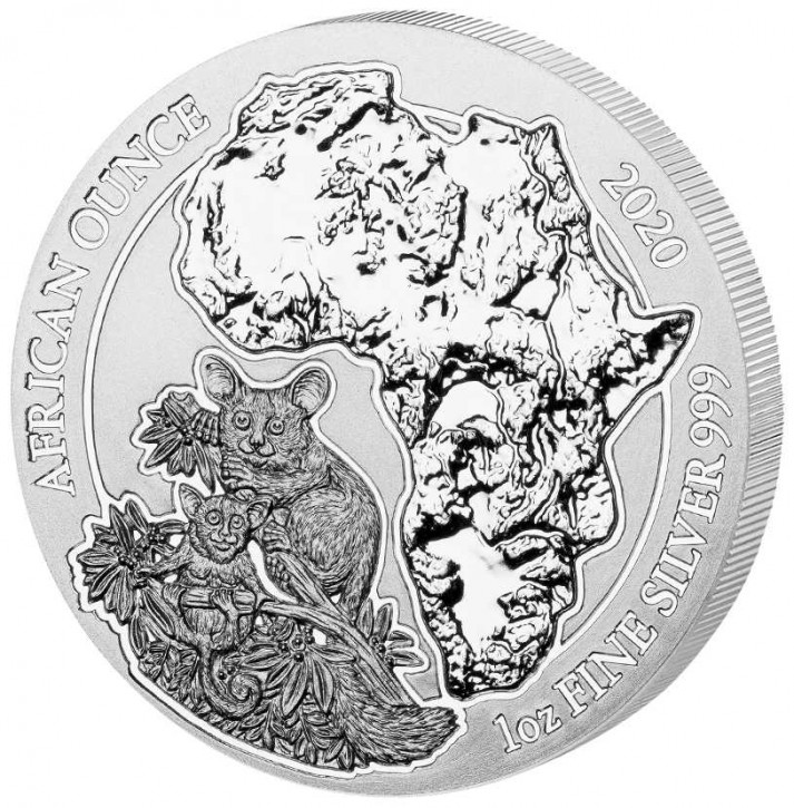 1 Oz. Ruanda - Buschbaby 2020