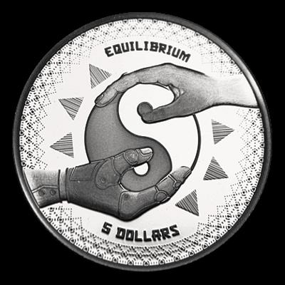 1 Oz. Tokelau - Equilibrium 2020 (Prooflike)